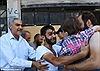 Nghẹn ngào tình cha con ở Syria