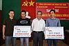Hỗ trợ 165 triệu đồng cho ngư dân Lý Sơn