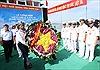 Tưởng niệm các anh hùng, liệt sĩ hy sinh trong chiến thắng trận đầu của Hải quân VN