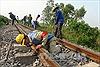 Đường sắt Bắc-Nam đoạn qua Quảng Bình ổn định sau sự cố