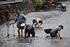 Người dân Quảng Ninh đổ ra suối mò than