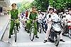Thí điểm mô hình Cảnh sát tuần tra bằng xe đạp