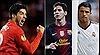 Messi, Suarez và Ronaldo tranh giải Cầu thủ xuất sắc nhất UEFA 2015
