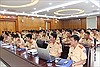 Cảnh sát giao thông Hà Nội nâng cao kỹ năng dẫn đoàn