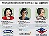 Những nữ doanh nhân thành đạt của Việt Nam