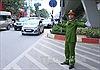 Phân luồng giao thông trong lễ xuất quân bảo vệ Đại hội Đảng