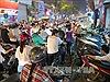Phân luồng lại giao thông trên nhiều tuyến phố Hà Nội