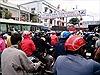 Ùn tắc giao thông nghiêm trọng tại phà Vàm Cống, An Giang