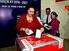 Chủ tịch Quốc hội bầu cử tại quận Ba Đình, Hà Nội