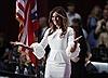 Vợ người mẫu ông Trump đẹp kinh ngạc tại Đại hội đảng Cộng hòa
