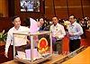 Thông cáo số 3 kỳ họp thứ nhất, Quốc hội khóa XIV