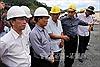 Kiểm tra hiện trường sự cố thủy điện Sông Bung 2