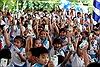 Quỹ sữa Vươn cao Việt Nam và Vinamilk trao tặng sữa cho trẻ em