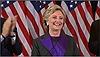 Bà Clinton chấp nhận kết quả bầu cử