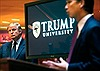 Trước thềm nhậm chức, ông Trump chi tiền để dẹp vụ kiện Đại học Trump