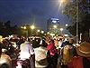 Gần Tết, nhiều ngả đường Hà Nội ùn tắc nặng