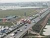 Hàng nghìn xe ô tô ùn tắc trên quốc lộ 1A