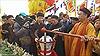 Xúc động nghi lễ rước dòng nước sông Hồng trong mát về Đền Trần Thái Bình