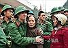 Thanh niên vùng Bắc Trung Bộ hăng hái lên đường nhập ngũ