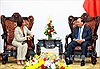 Thủ tướng Nguyễn Xuân Phúc tiếp Đại sứ Timor Lester
