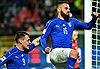Vượt qua Albania trong trận cầu bị gián đoạn, Italy vẫn chưa thể có ngôi đầu bảng G