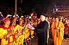 Độc đáo nghi lễ rước đuốc trong lễ hội Phủ Dầy