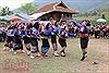 Dân tộc Lào ở Điện Biên tưng bừng đón Tết té nước