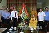 Lãnh đạo Mặt trận Tổ quốc Việt Nam chúc mừng Phó Pháp chủ Giáo hội Phật giáo Việt Nam nhân đại lễ Phật đản