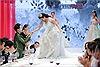 Thiên Nga lộng lẫy mặc váy cô  dâu, nhận nhẫn của 'soái ca' Key trong thử thách The Face