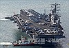 Nhóm tàu sân bay USS Nimitz bắt đầu chiến dịch chống IS tại Syria, Iraq