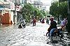 Thành phố Hồ Chí Minh ngập sâu do triều cường vượt mức báo động 3