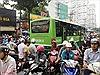TP Hồ Chí Minh ngập nước, kẹt xe, cây đổ sau trận mưa suốt đêm