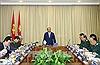 Thủ tướng Nguyễn Xuân Phúc thăm, làm việc với Ban Quản lý Lăng Chủ tịch Hồ Chí Minh