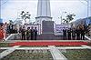 Khánh thành Cột cờ biên giới Lũng Pô