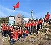 Lễ chào cờ đầu năm mới 2018 đầu tiên trên đất liền Việt Nam