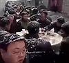 Xem dân Trung Quốc ăn cỗ rào rào giữa trời tuyết dày đặc