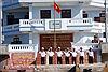 Phút chia tay lưu luyến của các chiến sĩ Trường Sa hoàn thành nhiệm vụ trở về đất liền