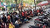Người dân gạt hết mọi công việc để cổ vũ cho U23 Việt Nam