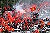 """Báo Anh ví màn chào đón tuyển U23 của người Việt Nam như đón 'siêu sao nhạc rock"""""""