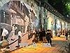 Ký ức Hà Nội tuyệt đẹp trên phố bích họa Phùng Hưng