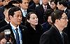 Những hình ảnh đầu tiên của em gái nhà lãnh đạo Kim Jong-un tại Hàn Quốc