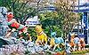 Ngắm đường hoa Tết Nguyễn Huệ trước ngày khai mạc