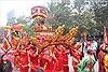 Hàng nghìn người  về dự Lễ hội gò Đống Đa