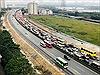 Ngày cuối nghỉ Tết Mậu Tuất: Ô tô kéo dài hàng km trên cao tốc Pháp Vân