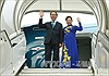 Chủ tịch nước Trần Đại Quang và Phu nhân rời Hà Nội đi thăm cấp Nhà nước tới Cộng hòa Ấn Độ