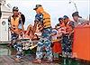 Tàu Cảnh sát biển cứu nạn thành công tàu cá tại vùng biển Hải Phòng