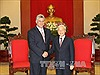 Chùm ảnh Tân Chủ tịch Cuba Miguel Diaz-Canel Bermudez và lãnh đạo thế giới