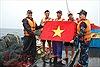 Cảnh sát biển Việt Nam - Trung Quốc kiểm tra tàu cá trên Vịnh Bắc Bộ