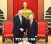 Tổng Bí thư Nguyễn Phú Trọng tiếp Toàn quyền Australia