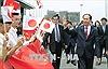 Chủ tịch nước Trần Đại Quang đặt chân tới Tokyo, bắt đầu chuyến thăm Nhật Bản